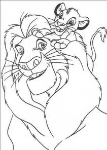 simba coloring pages free printable simba coloring pages for
