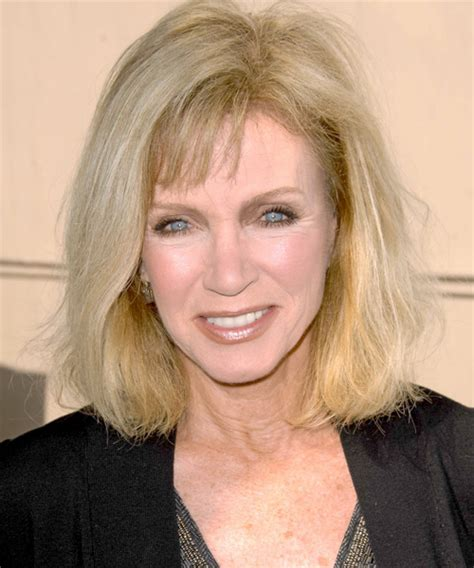 photos of donna mills curly frosted hairstyle from the 89s donna mills medium straight casual hairstyle donna mills