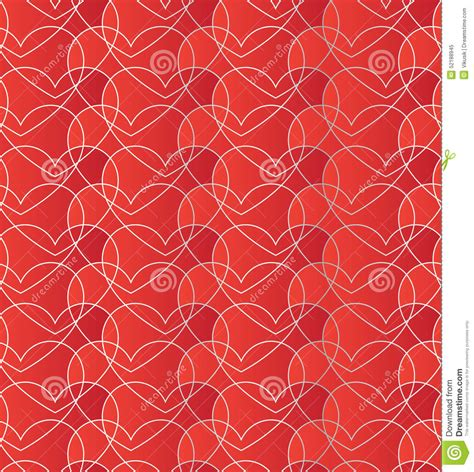 heart gradient pattern seamless pattern with gradient red hearts romantic red