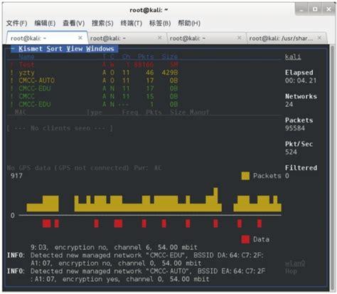 Kali Linux Kismet Tutorial | 9 1 无线网络嗅探工具kismet 大学霸 kali linux 安全渗透教程