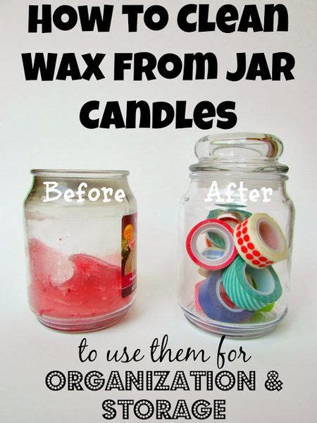 how to clean candle jars use them for brushes polishes http bellashoot com 187 hair beauty