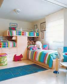 rainbow bedroom ideas colorful girl bedroom design rainbow stripe bed linen bunk