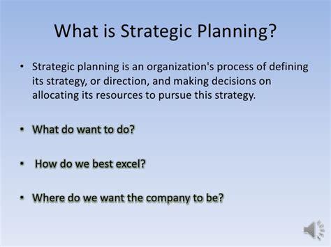 strategic planning what is strategic planning strategic planning powerpoint