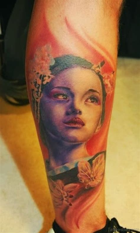 tattoo de una geisha 59 graceful geisha tattoos for leg