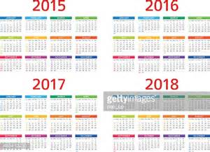 Kenya Calendario 2018 Kalender 2015 2016 2017 208illustration Vektorgrafik