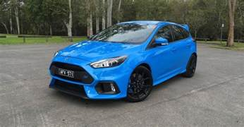 2017 ford focus rs awd ford release