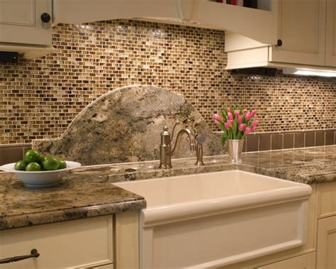 Kitchen Sink Backsplash Ideas | 137 best images about backsplash ideas granite countertops