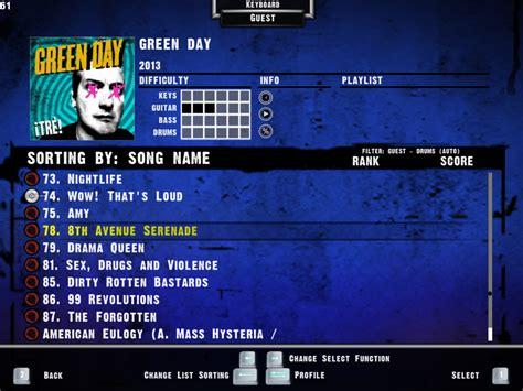 Kaos Band Rock Green Day Uno Dos Tre Gd16 proyecto green day rock band uno dos tre pc taringa