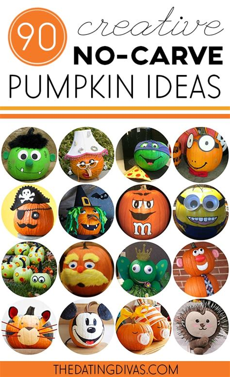 pumpkin decorating ideas fun pumpkin designs