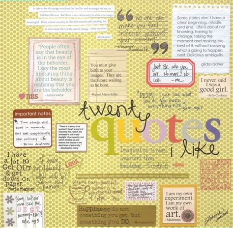 quotation page layout awesome scrapbook photos scrapbook page idea