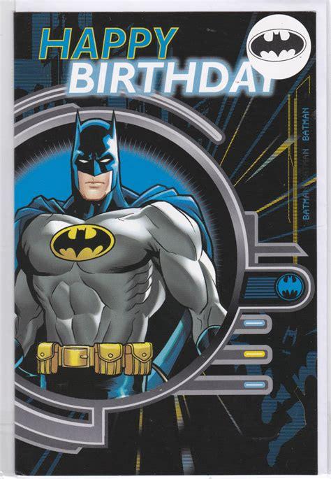 batman happy birthday card retrospace