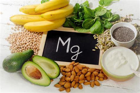 magnesio  es funciones beneficios alimentos ricos  sintomas