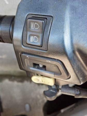 Saklar Supra Fit otomotif roda dua ganti saklar sein tanpa bongkar