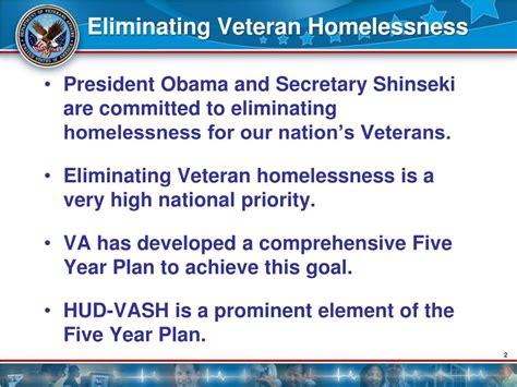 section 8 homeless program ppt hud vash the va perspective powerpoint presentation