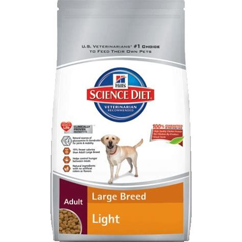 hill s science diet large breed light hill s science diet light large breed dry dog food