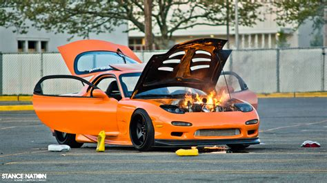 stanced rx7 500 hp mazda rx7 the ups downs stancenation