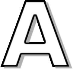 Criminal Black Letter Outline Capitol A Outline Signs Symbol Alphabets Numbers Outlined Alphabet Outline Capitol Capitol A