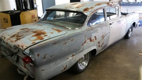 ford custom  barn find hot rod fairlane  sale