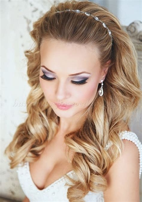 headband hairstyles medium hair wedding hairstyles with headband hair down wedding