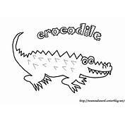 106 Dessins De Coloriage Crocodile &224 Imprimer Sur
