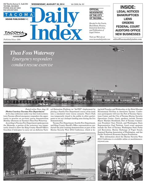 sc 1 st issuu tacoma daily index february 05 2014 by