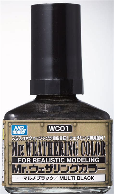 Mr Acrysion Water Based N2 Black Mr Hobby mr hobby mr weathering color multi black