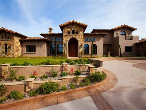 tuscany house tuscan style homes plans images