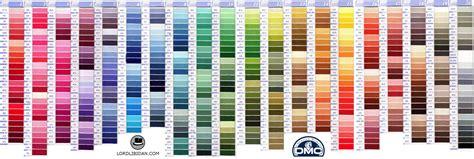 dmc thread colors dmc color chart updated lord libidan
