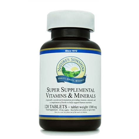Suplemen L Supplemental Vits Mins Anousta Products