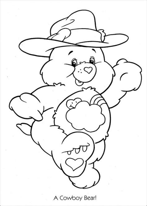 Coloring Pages Care Bears Printing | free printable care bear coloring pages for kids