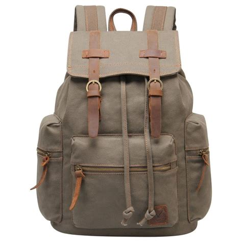 Best Quality Backpack Lona eabag unisex s retro high quality canvas backpack back