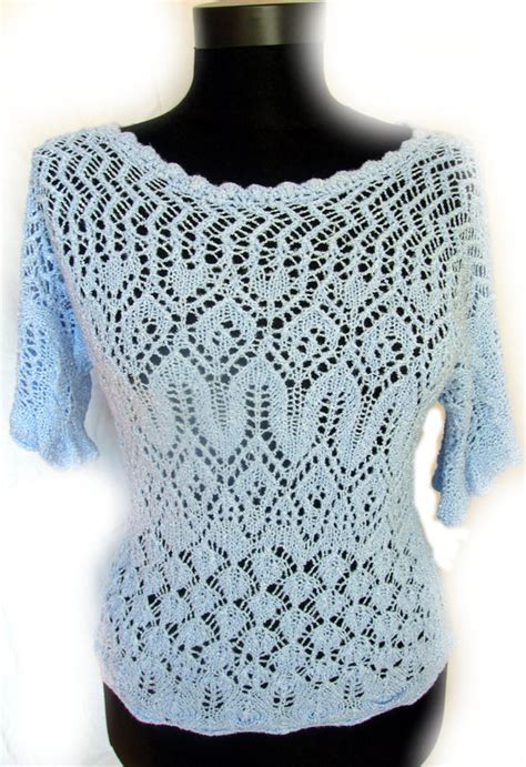 Blouse Knit Morenq sler knitting patterns for afghans accessories and