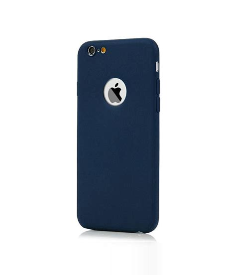 Back Cover Iphone 6 kolorfish back cover for iphone 6 6s navy plain back
