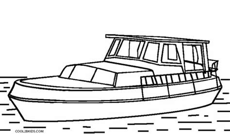 boat pictures to print and color racing boat coloring pages