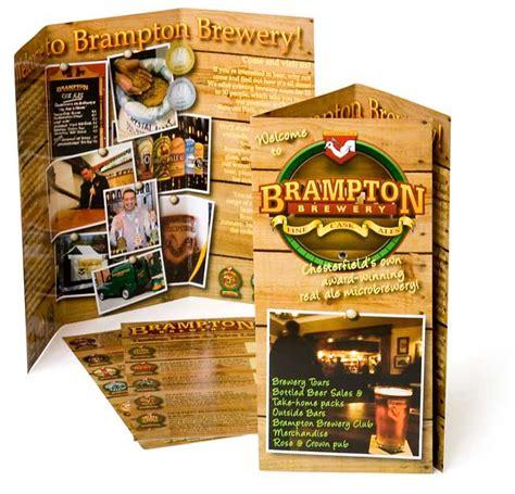 leaflet design manchester leaflet design for brton brewery by sheffield design