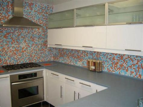 Stick On Backsplash Tiles by Mosaico Con Azulejos De Cocina Im 225 Genes Y Fotos