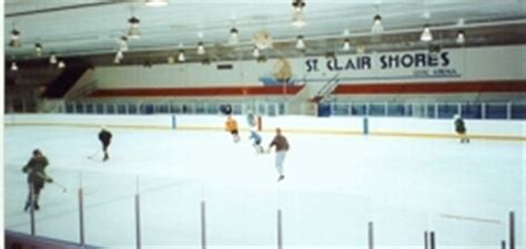 rené st clair arenas used by scsha