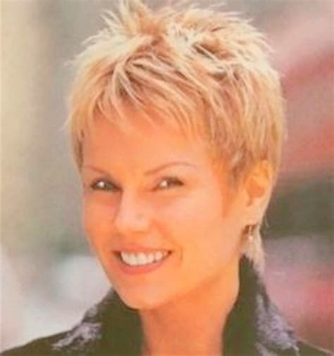 short haircuts  older women   faces images