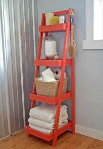 diy ladder bookcase 12 cool diy furniture projects diy and crafts