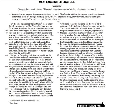 Essay About Literature by Hayden Robel S Ap Lit Comp