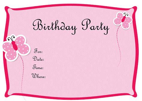 Printable Birthday Invitations For Tweens | free printable birthday invitations for tweens bagvania