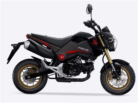 Motorrad Honda 125 Ccm by Msx125 Tough Sporty 125cc Motorbikes Honda Uk
