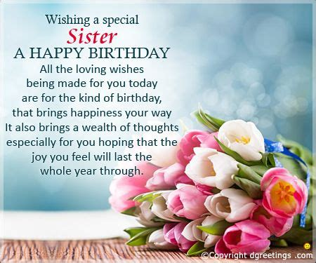 happy birthday images for my sister image result for happy birthday sister birthday quotes