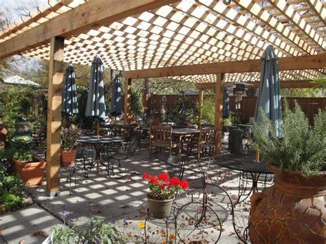 Outside Garden Garden Cafe