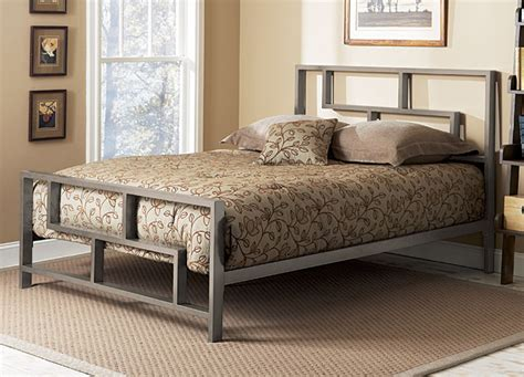 Stylish Iron Bed Frames Canada Platform Beds For Comfortable And Modern Bedrooms Founterior