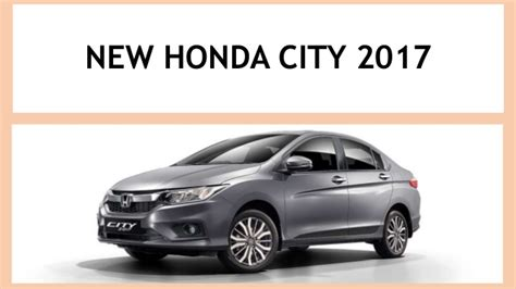 Sparepart Honda All New City all new honda city 2017 carkhabri