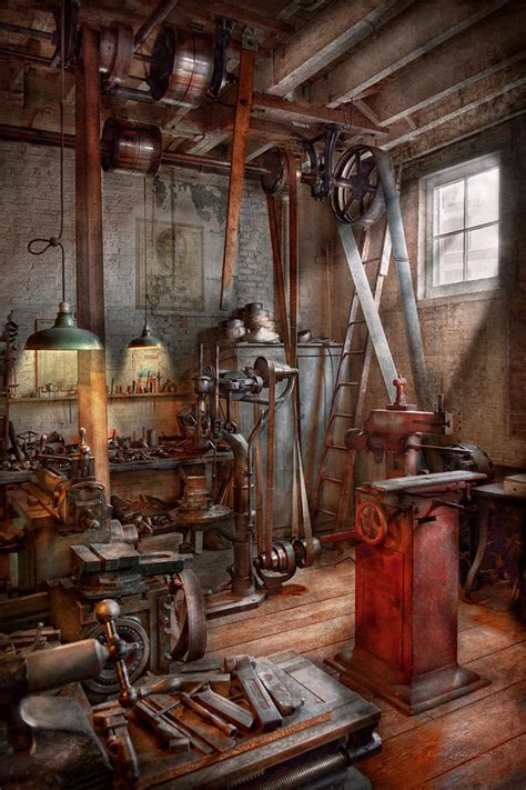 Interior Design Apps For Iphone Machinist The Modern Workshop Photograph By Mike Savad