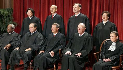 how many supreme court justices sit on the bench tracking supreme court justices rulings principles of