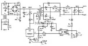 gt power supplies gt switch mode gt low noise switching power supply schematic circuit diagram