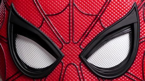 spiderman eye pattern spider man homecoming exclusive mask packaging youtube